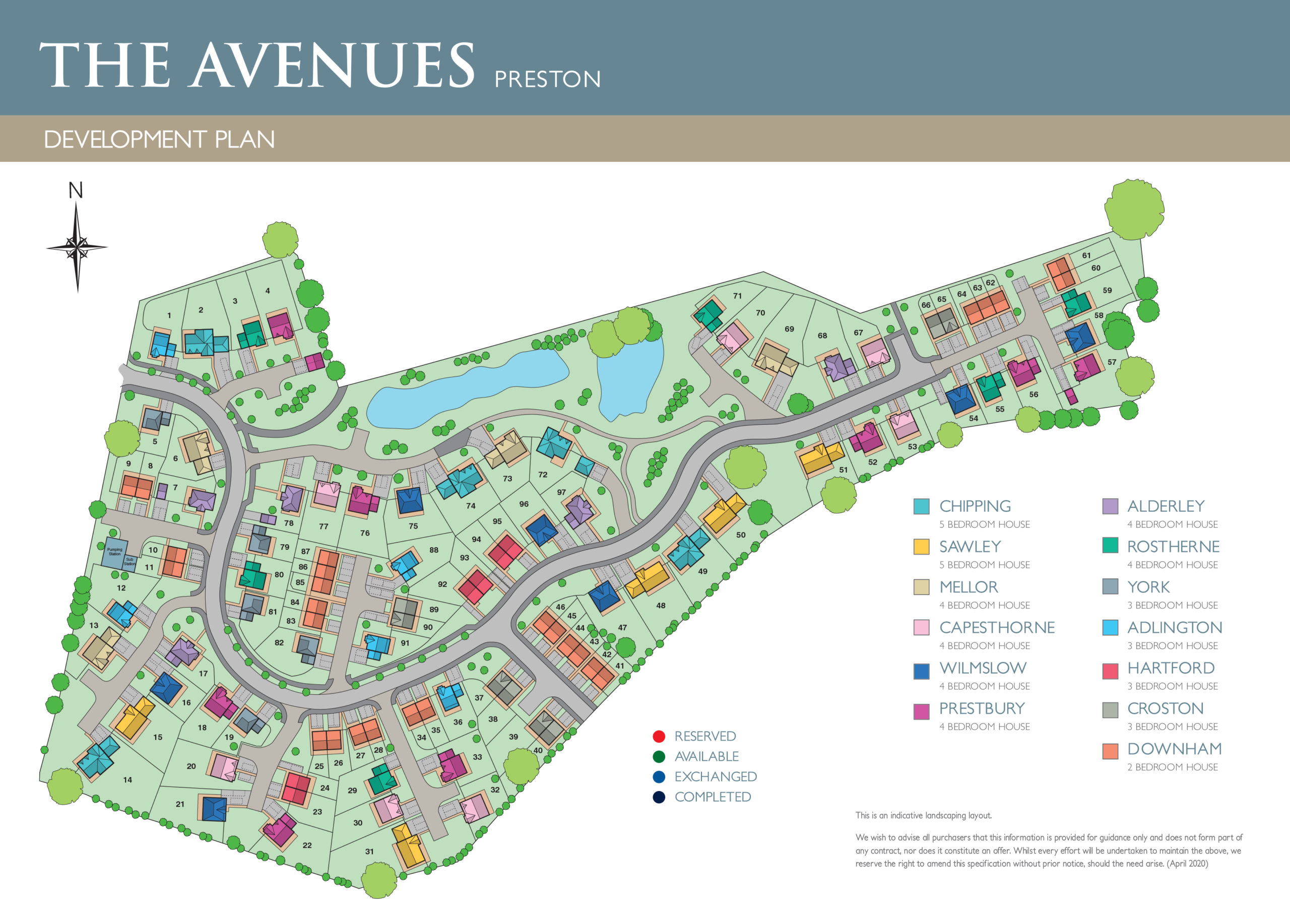 The Avenues Siteplan